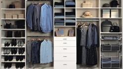 Обустройство гардеробной комнаты в доме