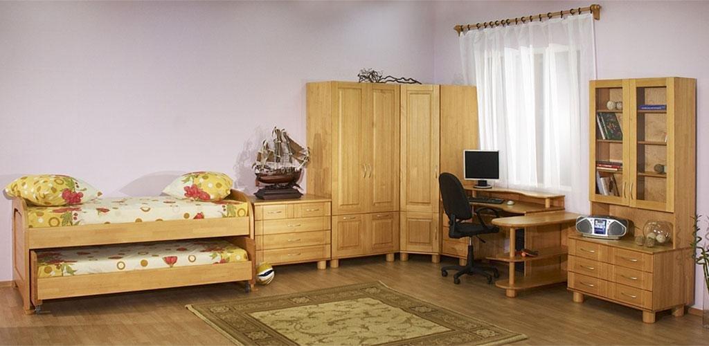 Мебель деревянная детская