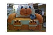 Кошка, детский диван