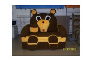 Мишка, детский диван