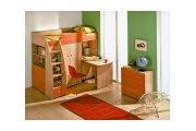 Радуга (Красная), набор мебели для детской комнаты