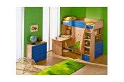 Радуга (Синяя), набор мебели для детской комнаты