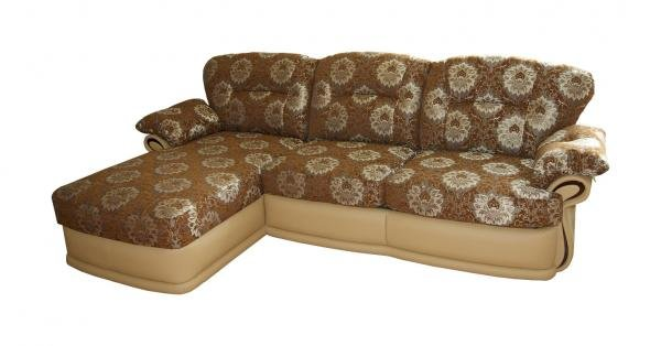 Даниэла, диван с оттоманкой