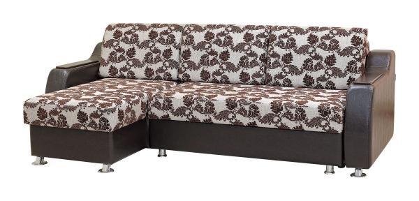 Глория 5, диван с оттоманкой